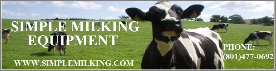Milking Machines and Milking equipment